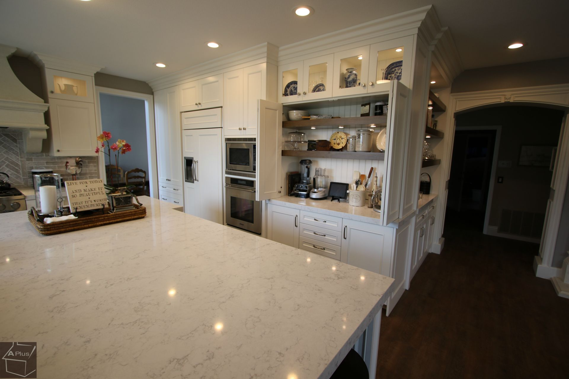 Design Build Transitional #KitchenRemodel U0026 Laundry Remodel With APlus  #Cabinets In Dove Canyon Orange