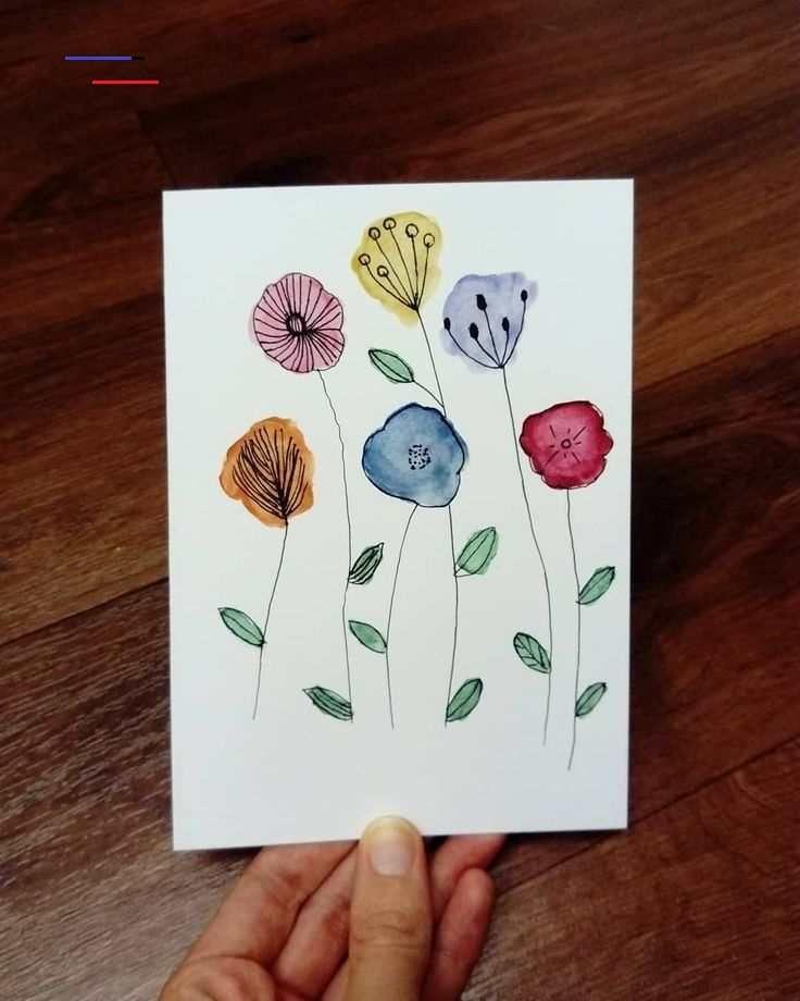 Pretty Watercolor Flowers #watercolor #flowers #painting#doodle #watercoloring<br>