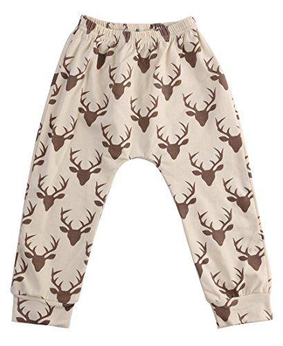 1edfcff4f Baby Boys Girls Cartoon Animal Print Elastic Waist Harem Pants 23 ...