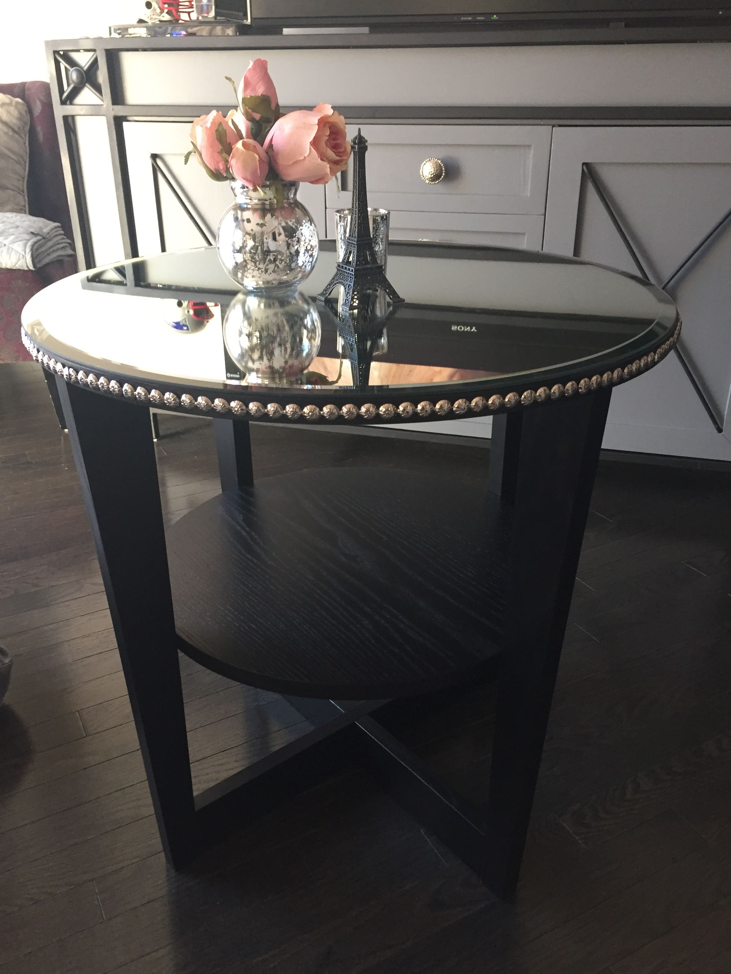 Ikea Vejmon Side Table Black Furniture Fancy Tacks Strips Two From Lee Valley And Ikea Beveled Mi Ikea Side Table Wood Console Table Ikea Lack Coffee Table [ 3264 x 2448 Pixel ]
