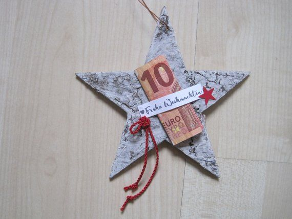 Cash Gift Star, Christmas Gift