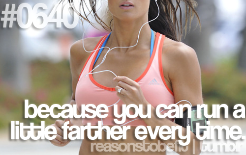 You can run a little farther every time. #juliomedina #p90x #motivation #workout #fitness #reasonstobefit #lifestyle #shakeology