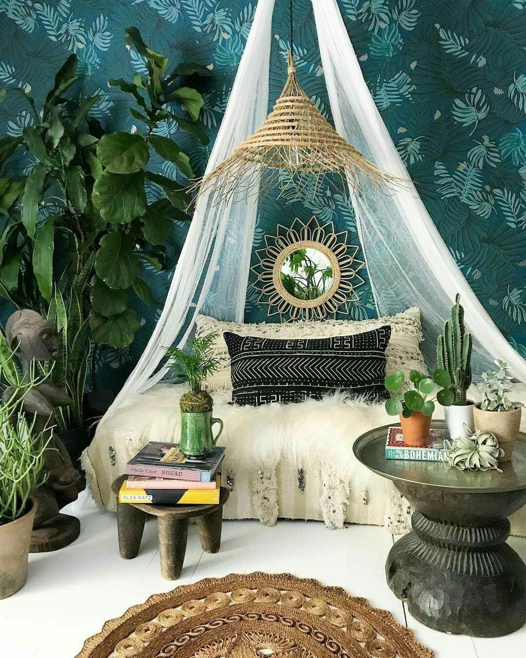 Home Decorating Ideas Moroccan Style Bedroom Home Decorating Ideas: Bohemian Bedroom Decor, Bohemian Bedroom, Shabby Chic Bedrooms