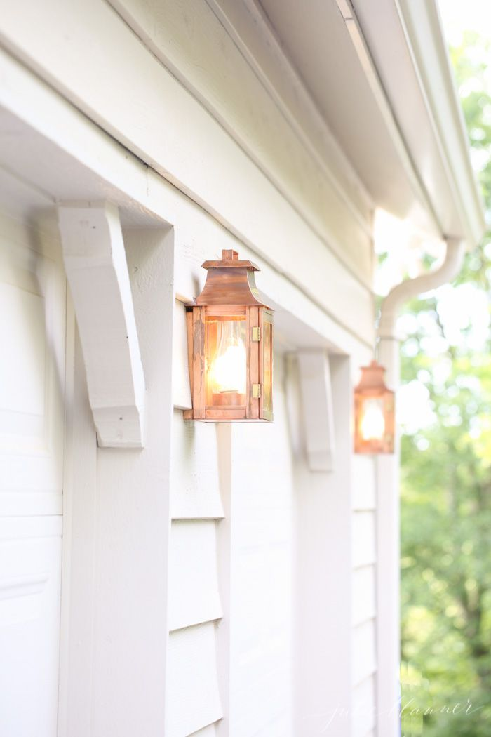 Copper Lanterns Timeless And Beautiful Outdoor Lighting