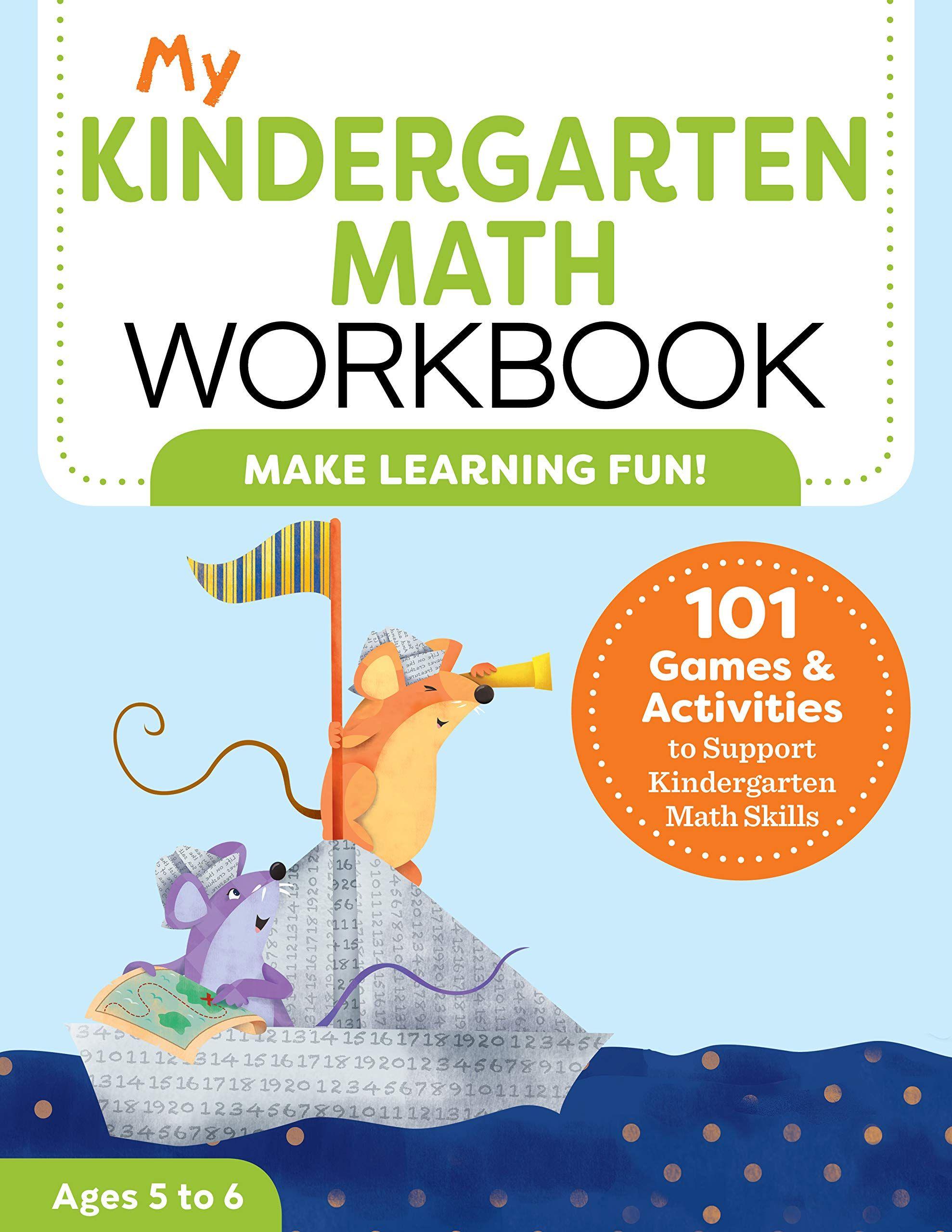 My Kindergarten Math Workbook 101 Games And Activities