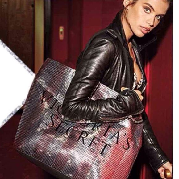 Victoria Secret Bling Tote Bag New in online packaging. VS Black Friday Tote Bag Victoria's Secret Bags Totes