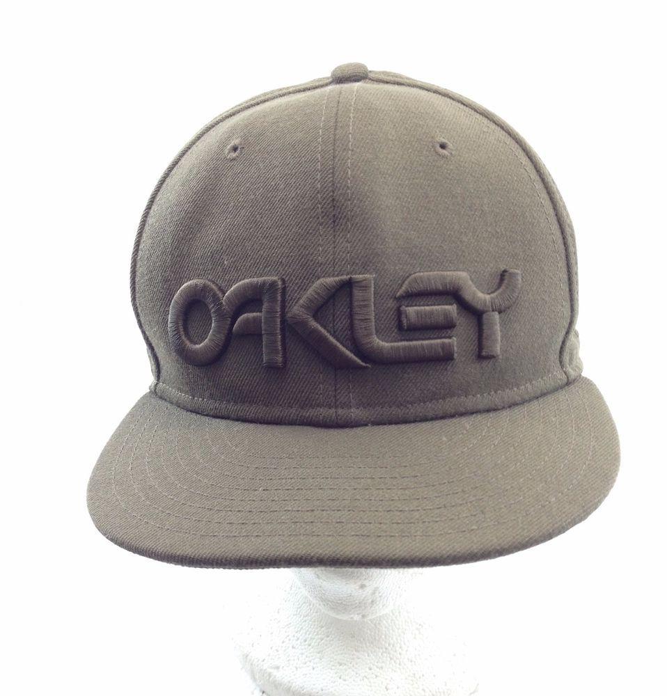 a1b6f6b37b9 Oakley New Era 59Fifty Olive Green Baseball Golf Cap Fitted 7 1 8 Mens   NewEra  Cap