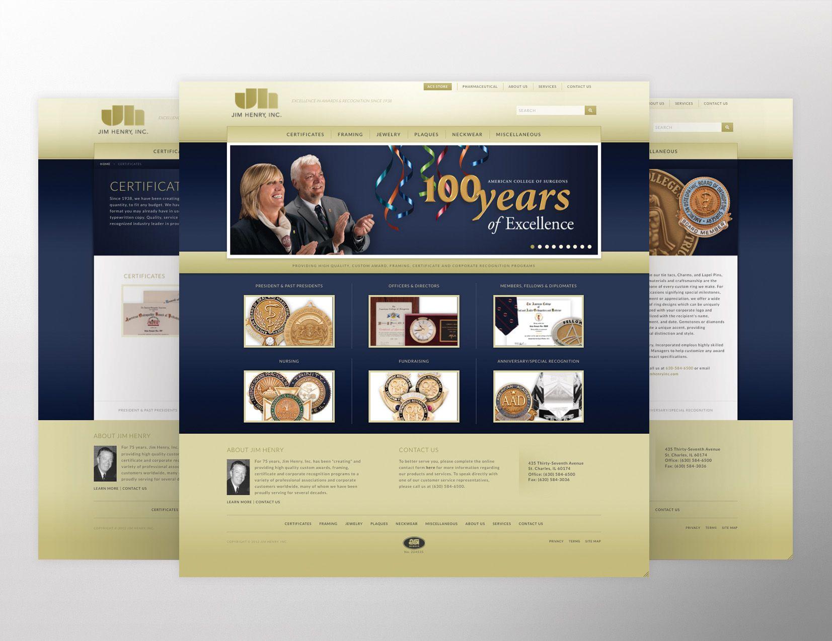 Jim Henry Inc. Website  ||  Streng Design & Advertising #ResponsiveDesign #WebDesign #WebDevelopment #UIdesign #InterfaceDesign #umbraco