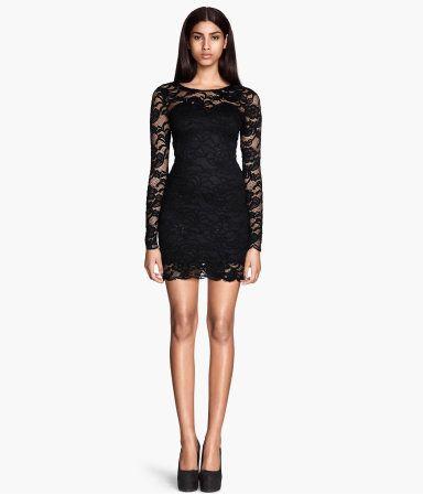 Hm kanten jurk