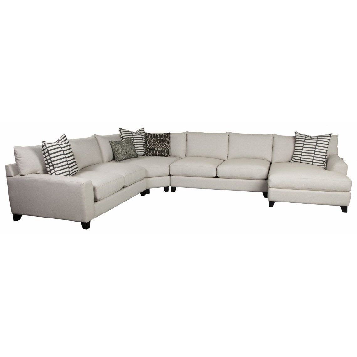 Harris 4 Piece Sectional By Jonathan Louis At Fashion Furniture