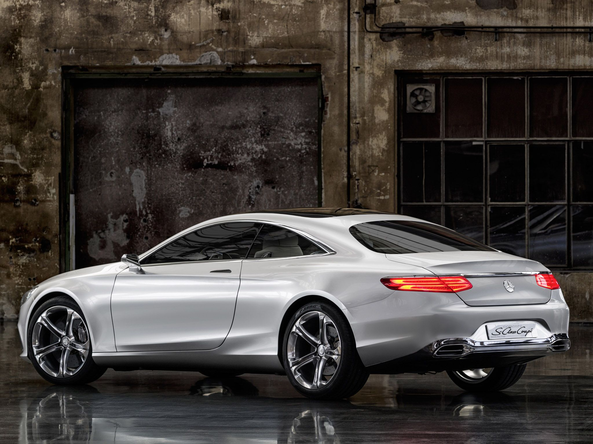 Mercedes Benz SClass Coupe Concept h wallpaper x
