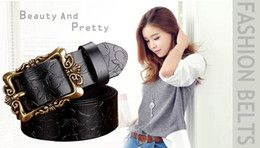 Men fashion brand GG belt quality belt real leather V alloy automatic assembling man's fending L belt buckle free shipping