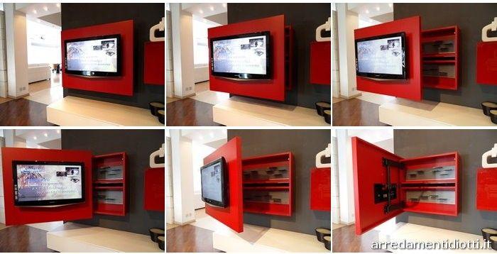 mobile porta tv orientabile - Cerca con Google   Idee per la casa ...