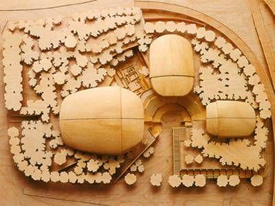 Le projet Auditorium de Rome, Renzo Piano. - Culture
