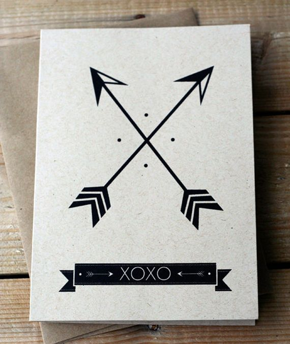 Two Crossed Arrows Native American Symbol For Friendship Tattoos