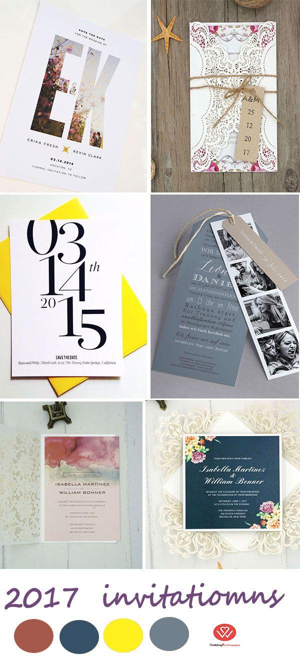 wedding invitations modern wedding rustic wedding laser