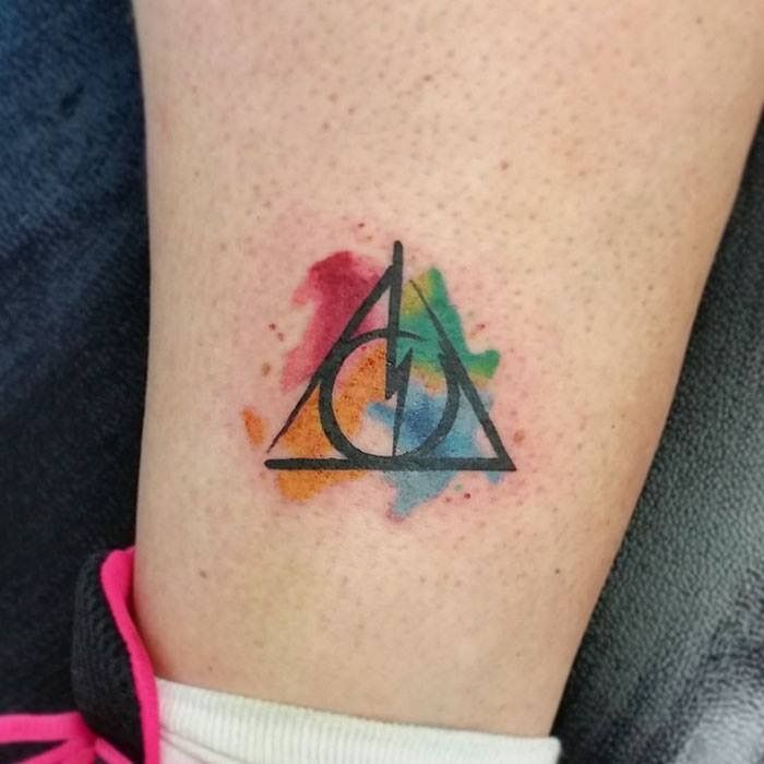 Pin By Ashton Drake Carter On Idees De Tatouages Clever Tattoos Harry Potter Tattoos Tattoos