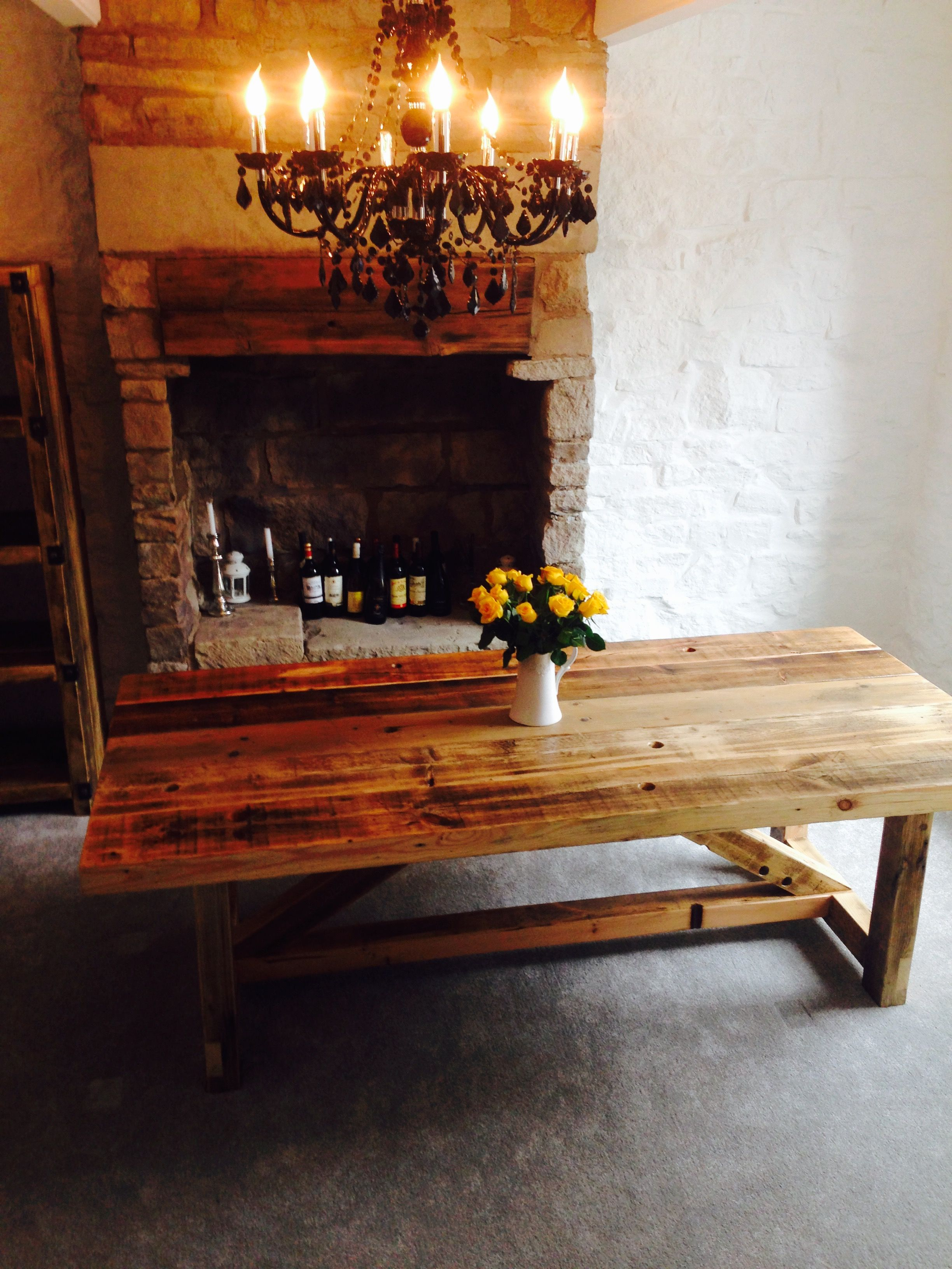 industrial style reclaimed wood large dining table www rh pinterest com