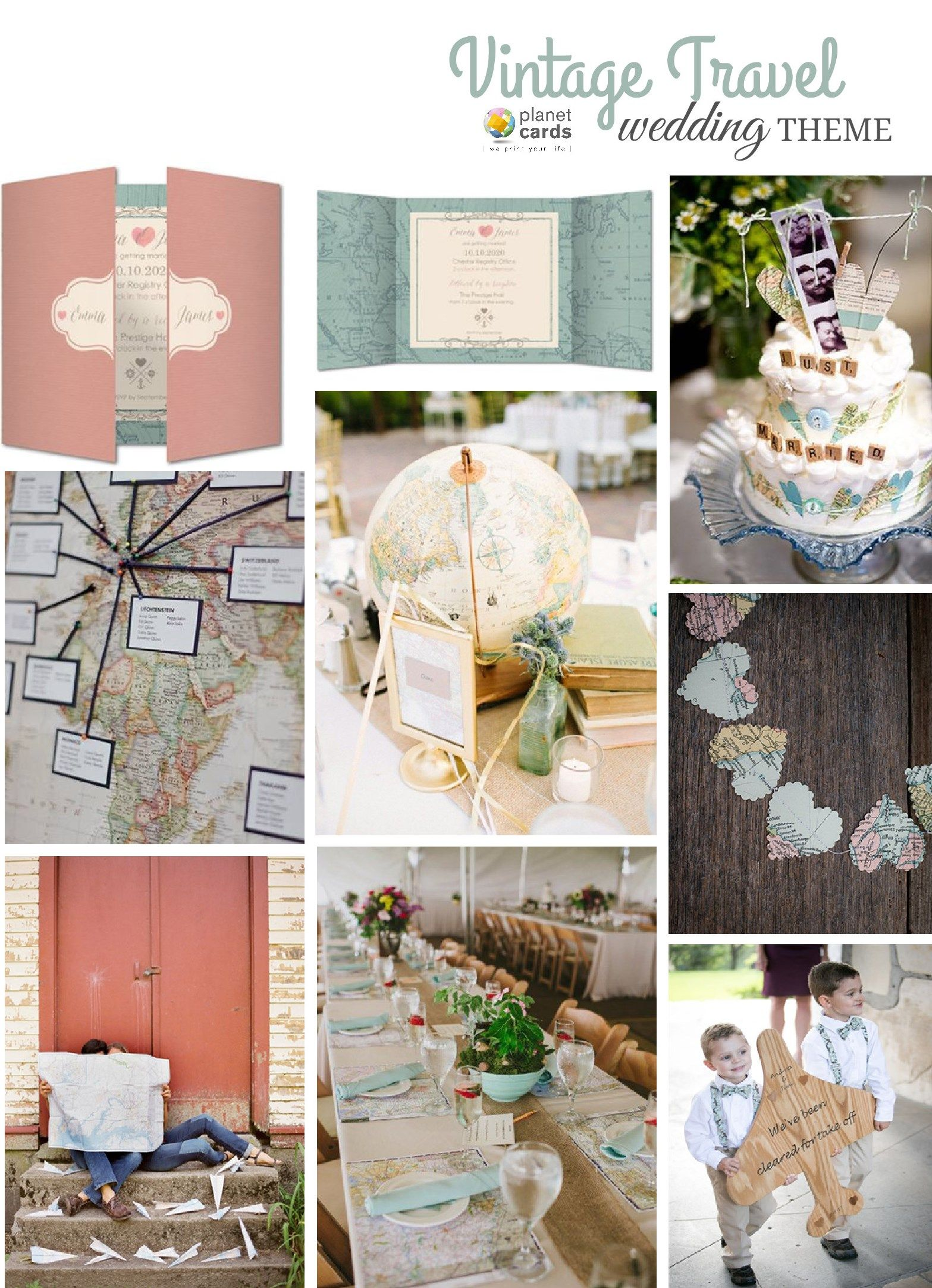 Let loveu0027s journey become your wedding theme