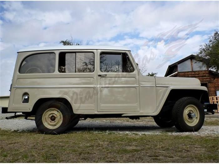 1958 Willys Jeep Wagon For Sale Classiccars Com Cc 713417 Willys Jeep Willys Jeep