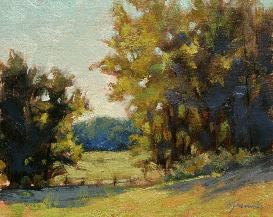 Workshop News And Some Plein Air Studies With Images Art Original Fine Art Landscape Paintings