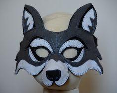 Wolf Maske Pdf Muster Von Oxeyedaisey Auf Etsy