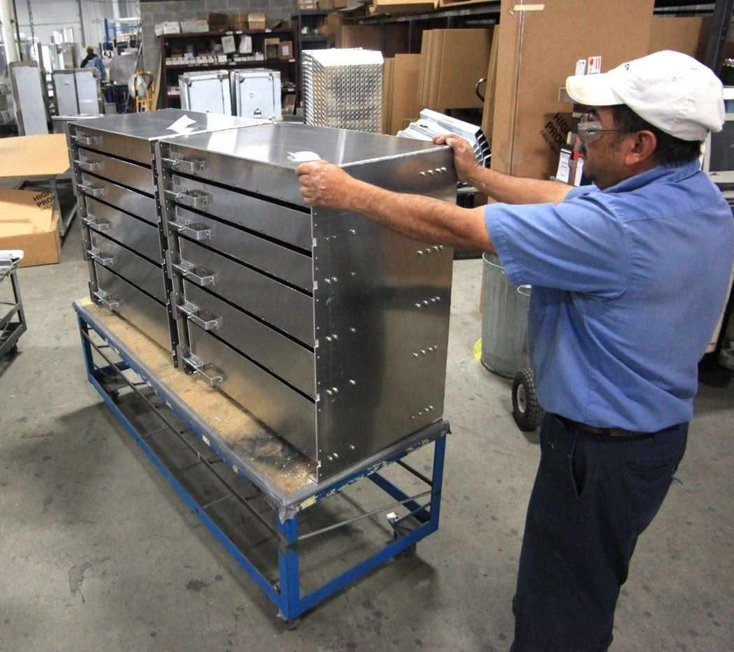 Semi Truck Storage Cabinets