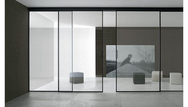 Velaria Sliding Doors By Rimadesio Available At Haute Living