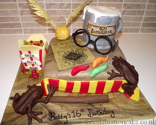 Bobbys Harry Potter Cake 1 Jpg 540 432