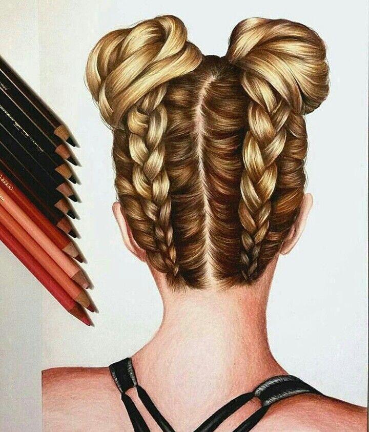 coiffure dessin | frisuren zeichnen, erstaunliche