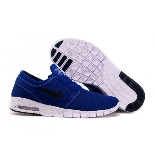 new product e549d 9cd2c ... clearance nike sb stefan janoski max bright blue men 70906 98049