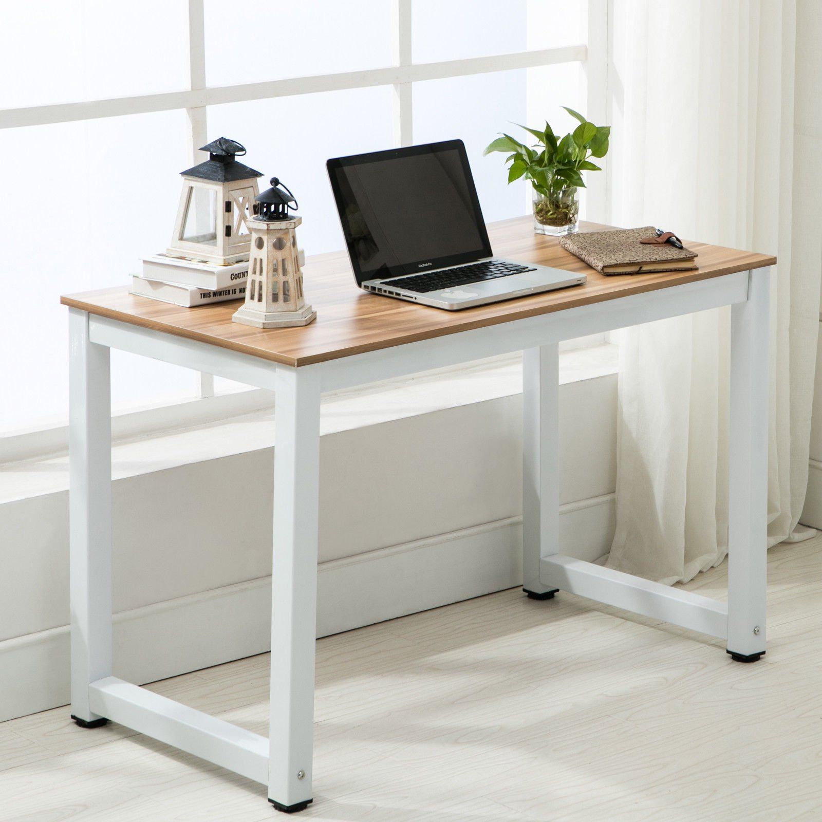 Ktaxon Wood Computer Desk Pc Laptop Study Table Workstation Home Office Furniture Walmart Com In 2020 Wood Computer Desk Home Office Furniture Pc Desk