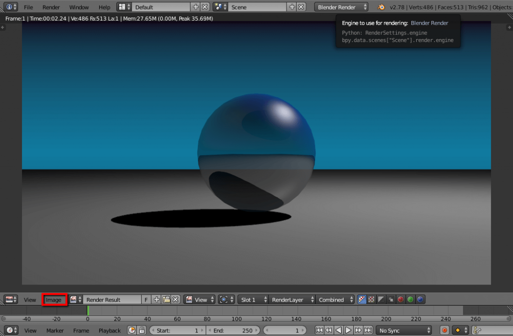 How to make your own website header with Blender 3D Software