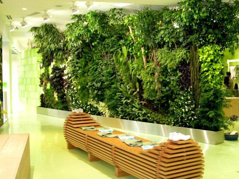 vertical garden indoor selber bauen ostseesuche com. Black Bedroom Furniture Sets. Home Design Ideas