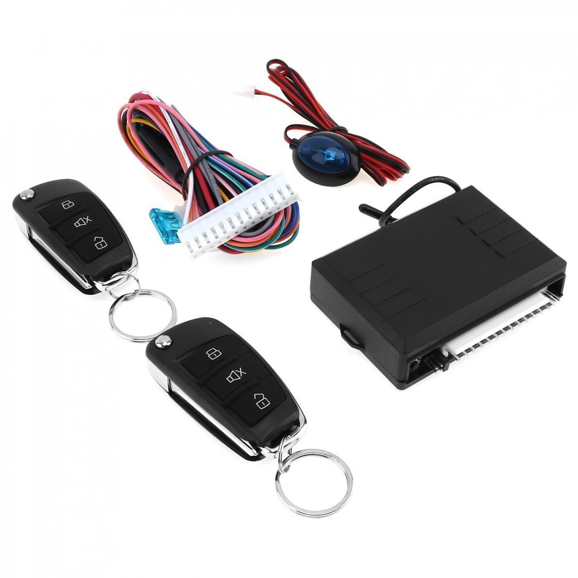 DC12V Car Alarm System Vehicle Keyless Entry System with