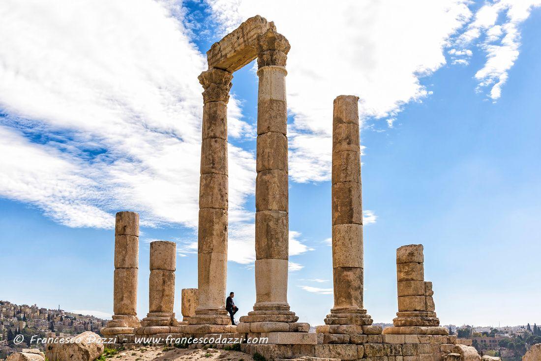 Roman Temple of Hercules in Amman Citadel