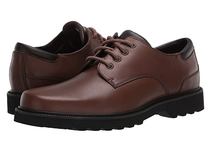 Rockport Northfield Men/'s Waterproof Shoes Plain Toe Leather Lace Up Oxfords