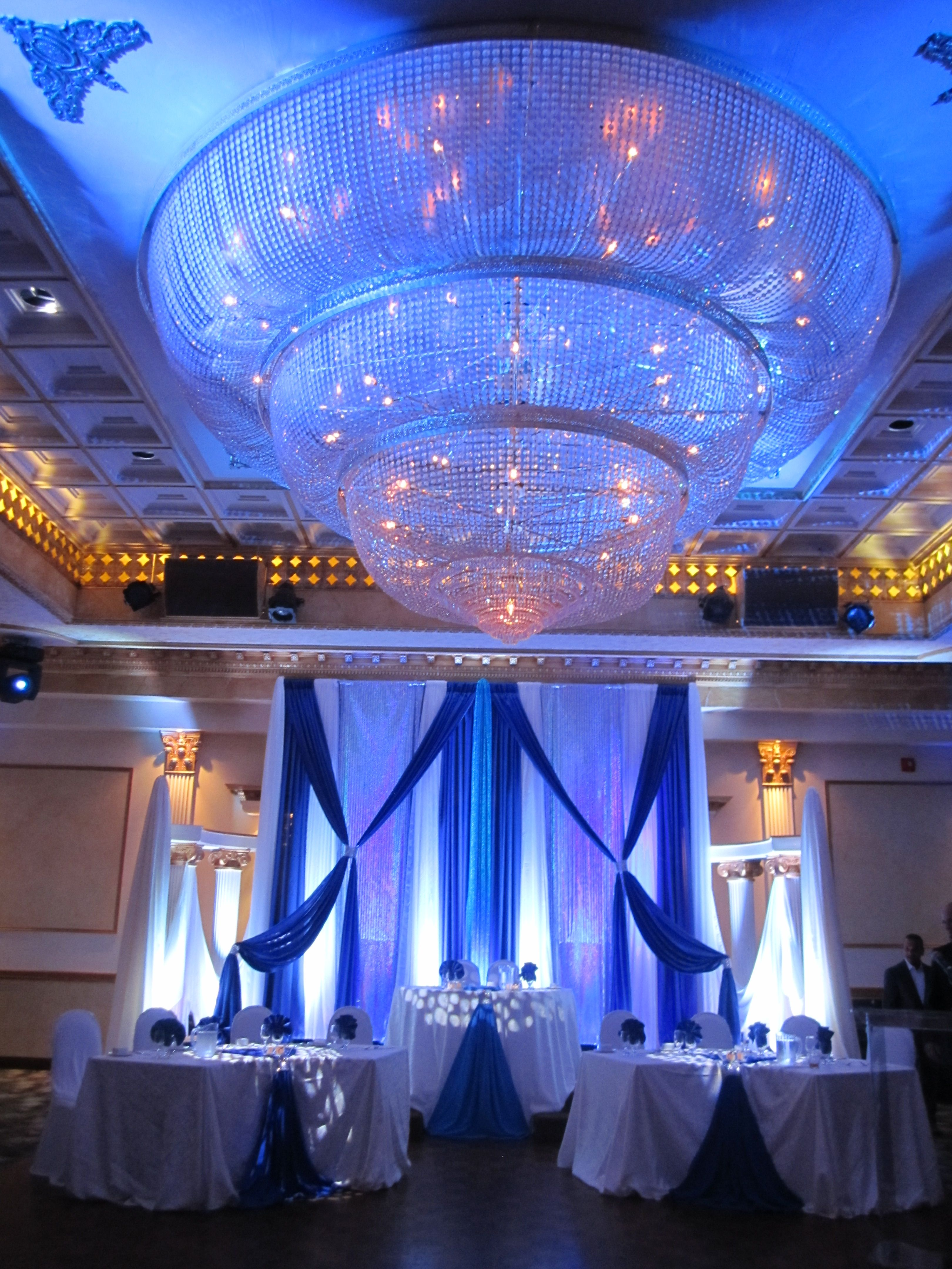 wedding stage decoration pics%0A Inhouse head table decor