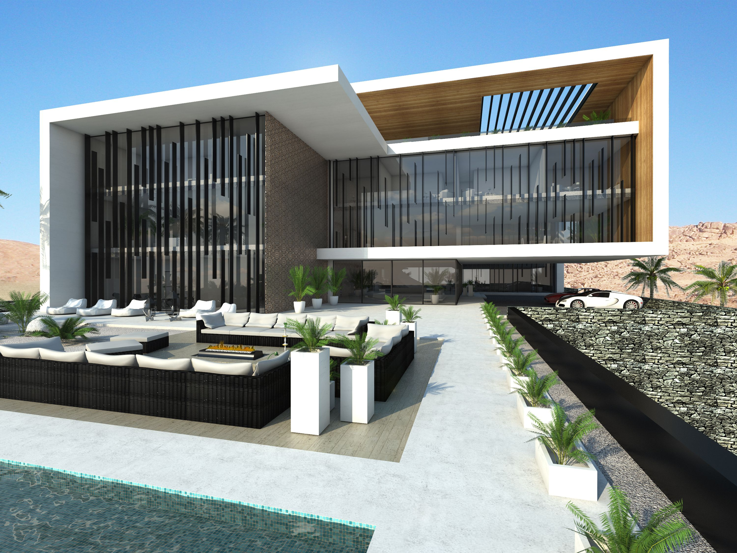 Modern House Design Villa Mecca In Saudi Arabia By Ng