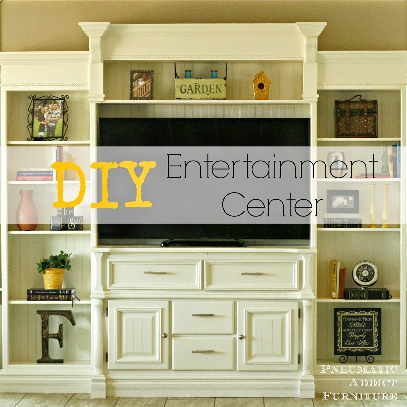 Pneumatic Addict Furniture DIY Entertainment Center