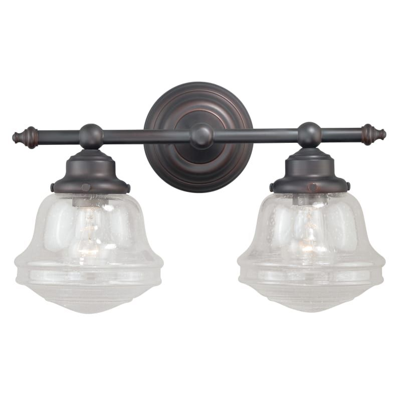 vaxcel lighting w0189 huntley 2 light wall sconce with seedy glass rh in pinterest com