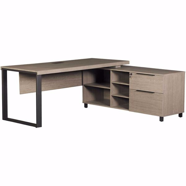 Portland Executive Desk Cabinet With