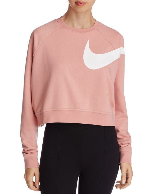 official supplier latest discount skate shoes Nike Cropped Logo Sweatshirt in 2019 | Adidas crop top ...