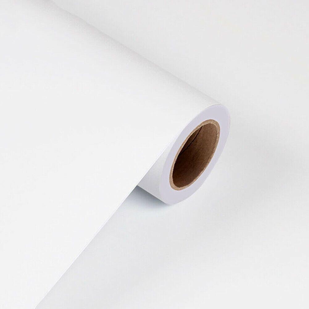 3m White Matt Wallpaper Roll Sticker Vinyl Self Adhesive Contact Paper Homedecor Wallpaper Ideas Of Wallpaper W In 2020 Contact Paper Vinyl Paper Paper Wallpaper