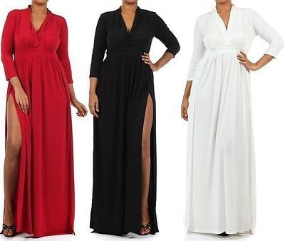 piniful.com plus size long maxi dresses (10) #plussizefashion ...