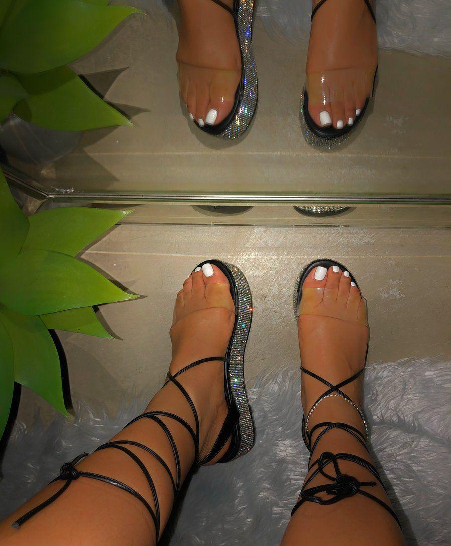 Platform sandals, Lace up sandals