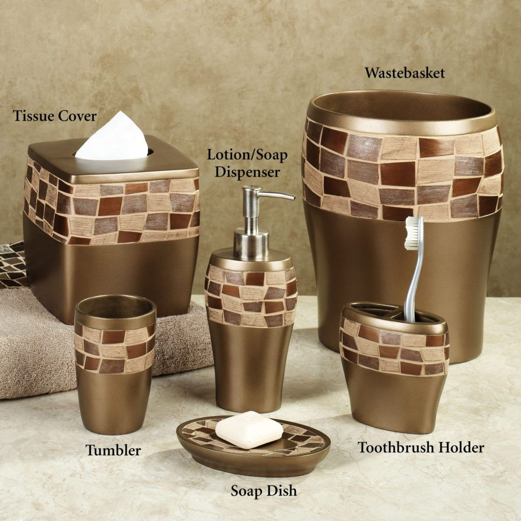 Bathroom fittings set - Elegant Bathroom Accessories Sets