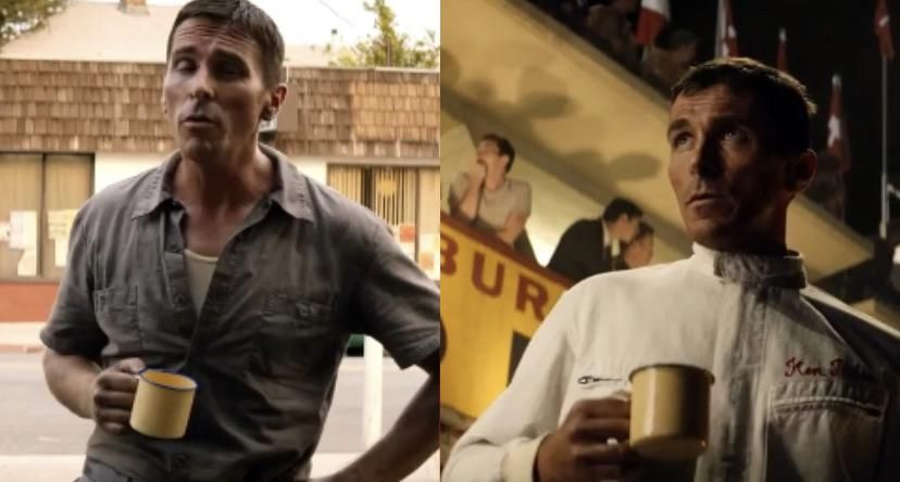 In Ford V Ferrari 2019 Ken Miles Uses The Same Teacup Throughout The Whole Movie Even Abroad In France In 2020 Recent Movies Ken Miles Movies