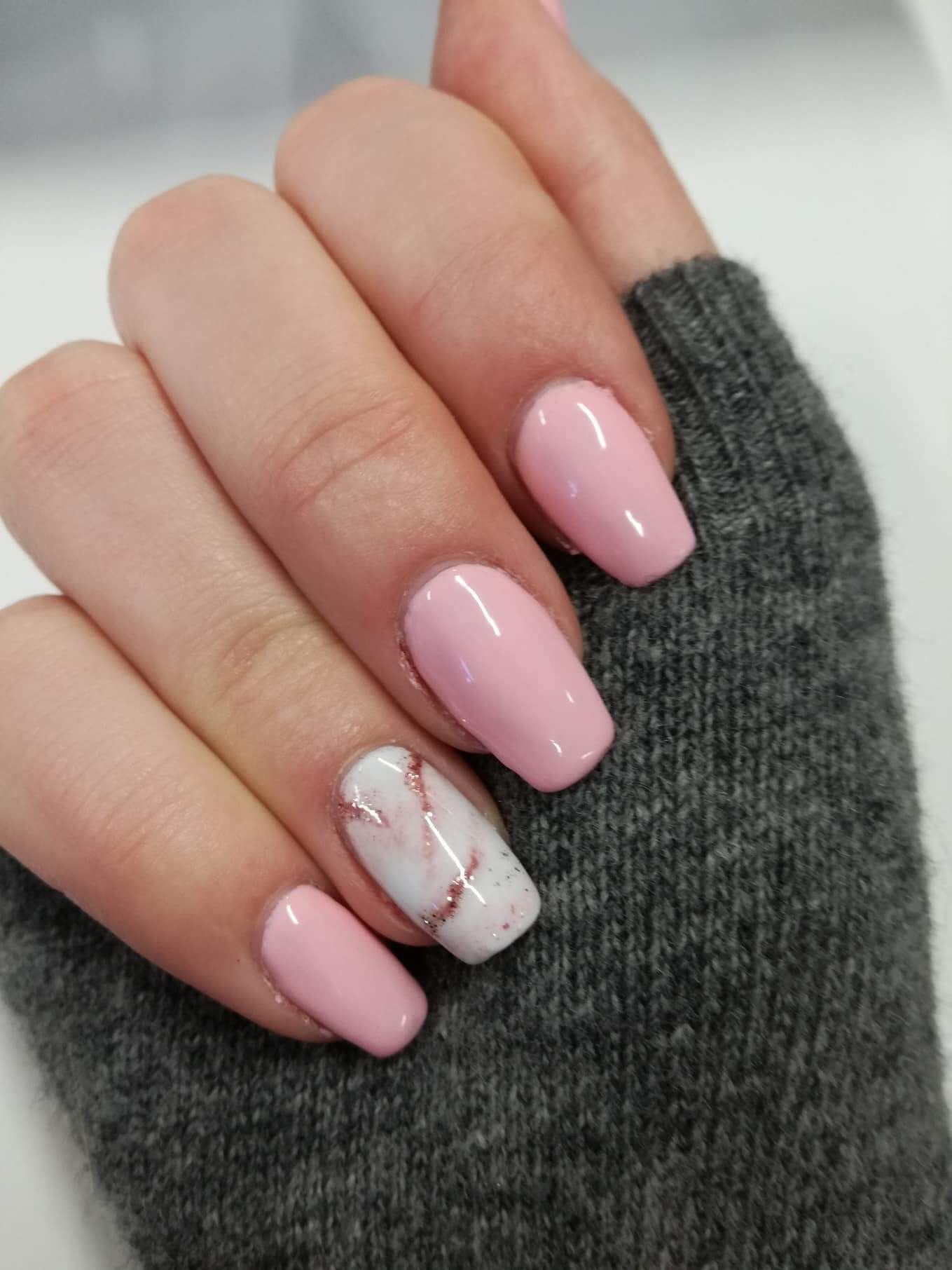 176 best Gel Nails 2018 images on Pinterest | Nail Art, Pretty nails ...