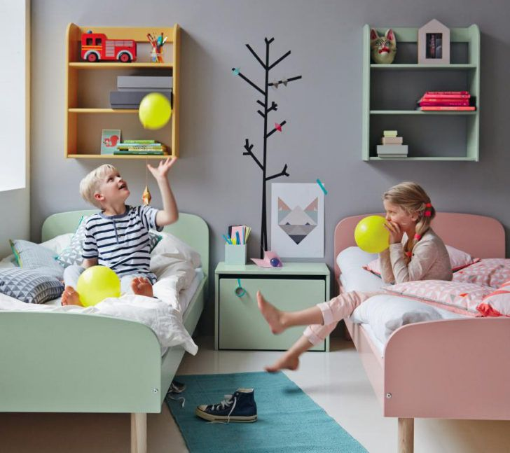 C mo decorar un cuarto infantil mixto casa y color - Dormitorios infantiles mixtos ...